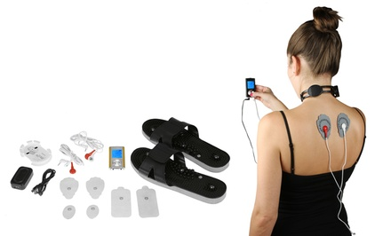 Digital Pulse Massager II with Optional Belt, Neck, or Shoe Combo Set or Adhesive Massaging Pads from $9.99–$49.99