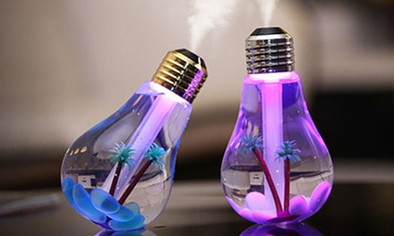 Mini USB Bulb Aromatherapy Diffuser with LED Lights