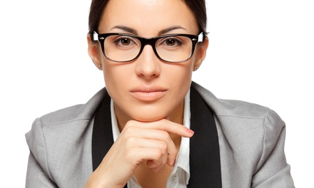 $49 for $200 Worth of Prescription Lenses, Frames, and Sunglasses at Eye Design Eyewear