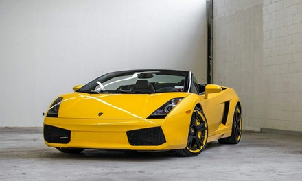 Ride-Along or Driving Experience in a Lamborghini Gallardo or Ferrari F430 at Cloud 9 Exotics (Up to 60% Off)