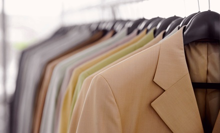 C$25 for C$50 Worth of Non-Toxic Dry Cleaning at Green Fine Dry Cleaners