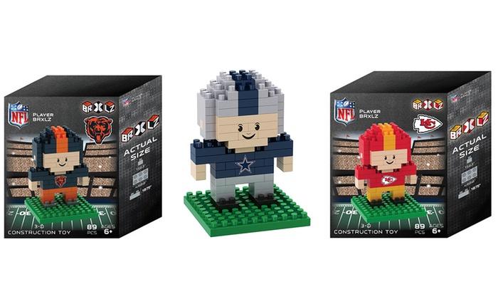 NFL Player 3D Puzzle Set (89-Piece)