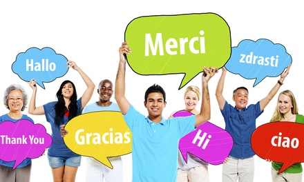 Online Language Course from Vizual Coaching Academy (Up to 95% Off). 10 Languages Available.