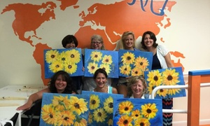 Create Outside The Box- Cob51: $20 for $40 Towards a Sip and Paint Event