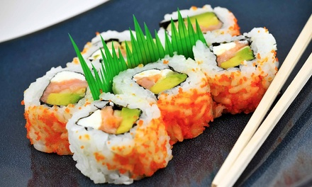 Dine-In or Carryout Sushi and Pan-Asian Cuisine at Kampai Sushi Bar (Up to 47% Off). Three Options Available.