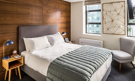Wellington: 1 to 3 Nights for Two with Breakfast and Late Check out at 4* Park Hotel Lambton Quay, Wellington