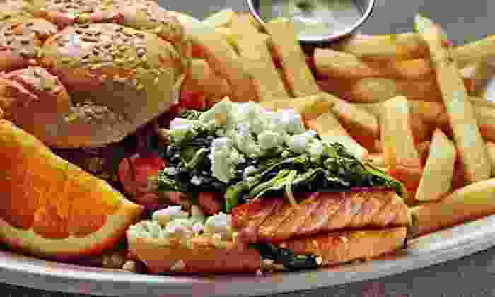 Claremont Diner - Rockridge: Eclectic Comfort Food at Claremont Diner (50% Off). Two Options Available.