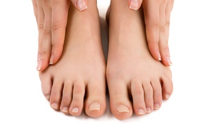 Oklahoma Foot & Ankle Associates: Laser Nail-Fungus Removal on Both Feet at Oklahoma Foot & Ankle Associates (Up to 83% Off)
