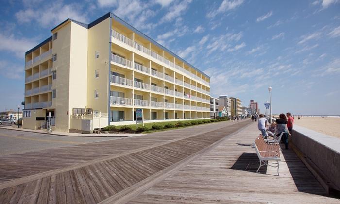 Howard Johnson Oceanfront Inn - Ocean City, MD: Stay at Howard Johnson Oceanfront Inn in Ocean City, MD; Dates into September
