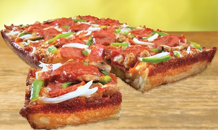 $23.52 for Two Groupons, Each good for Pizza Meal at Noble Roman's Take-N-Bake Pizza($40.56 Value)
