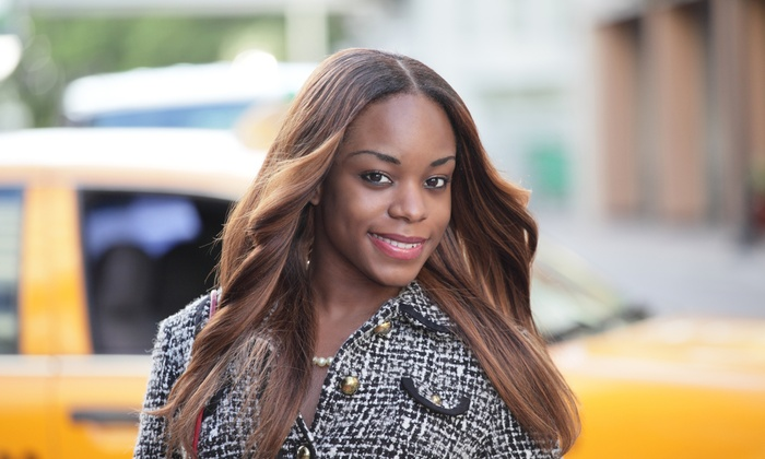 Amazing Weaves Plus - Southfield: Weave Packages at Amazing Weaves Plus (Up to 51% Off). Three Options Available.