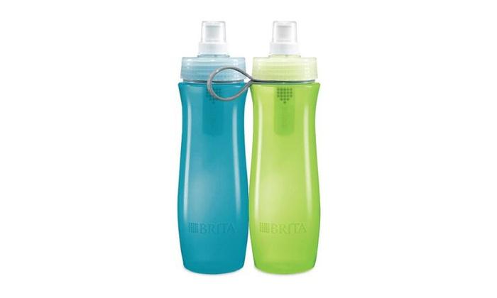 brita water bottle filter. Brita Sport Water Filter Bottle (20 Oz.)