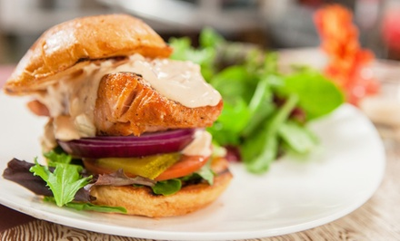 American Bistro-Style Food at Luna Café (Up to 43% Off). Three Options Available.