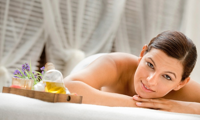 Omnis Integrative Massage - Biddeford: Essential Oil Wellness Session, Anti-Aging Facial Cupping, or Both at Omnis Integrative Massage (Up to 61% Off)