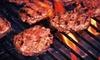 Up to 53% Off a Burger Meal at Cannibal Café