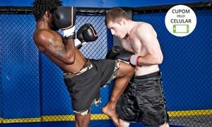 Academia AWA: Academia AWA – Águas Claras: 1, 3 ou 6 meses de muay thai ou MMA Fit