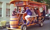 Cycle Saloon: Pub-Crawl Ride for Up to 4, 8, or 16 People from CycleSaloon (Up to 65% Off)