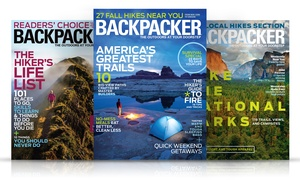 1- Or 2-year Subscription To Backpacker Magazine For $7 Or $12