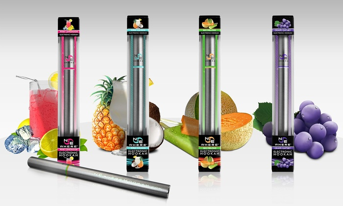 4-Pack of E-Hookah Pens from NEwhere Premium Vapor Products