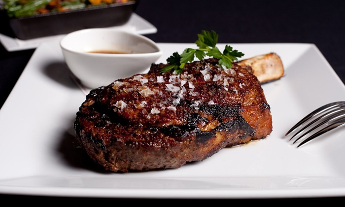MetroPrime Steakhouse - Five Points South: $30 for $60 Worth of Steak and Seafood Dinner at MetroPrime Steakhouse