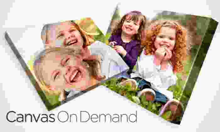 Canvas On Demand: Gallery-Wrapped Canvas with Shipping and Handling from Canvas on Demand (Up to 65% Off). Three Sizes Available.