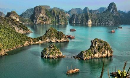 ✈Vietnam: 16 días y 15 noches con transporte y tours por Vietnam en hoteles de 3 y 4*