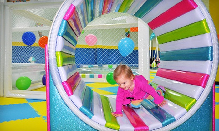 Yu Kids Island - Vernon Hills: 5 or 10 Unlimited-Play Indoor-Playground Visits to Yu Kids Island in Vernon Hills (Up to 58% Off)