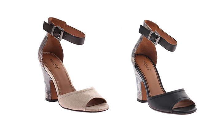 Nicole Lashley High Heel Sandals: Nicole Lashley High Heel Sandals. Multiple Options Available. Free Returns.