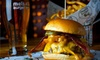 Mel's Burger Bar - Upper West Side: Two Burgers and a Half-Gallon Growler of Beer at Mel's Burger Bar. Four-Person Option Available (Up to 56% Off).