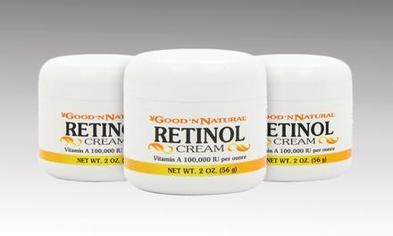 Good 'N Natural Retinol Cream; 3-Pack of 2oz. Jars