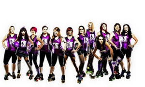 Missfits Roller Derby Boot Camp: $24 for Six Weeks of Roller-Derby Boot Camp at Missfits Roller Derby Boot Camp ($60 Value)