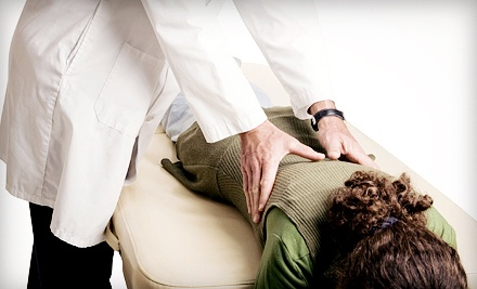 Four-Visit Chiropractic Packages With Optional Laser-Therapy Sessions at ChiroMed Plus (Up to 91% Off)