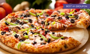 Piero's Pizza: CC$17 for Two Medium Three-Topping Pizzas and One Large Caesar Salad for Carry-out (Up to CC$33.71 Value)