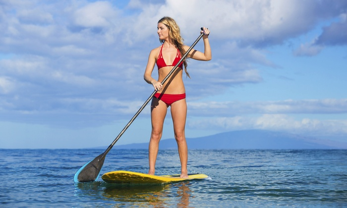 Beach Scooters & Water Sports - Beach Scooters & Water Sports: 4-Hour Paddleboard or All-Day Bike Rental for One or Two from Beach Scooters & Water Sports (Up to 62% Off)