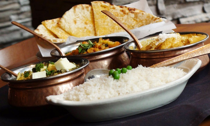 Little India - Denver: Indian Cuisine and Drinks for Dinner at Little India (40%Off). Two Options Available.