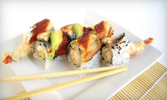 Tsunami - Northwest Columbia: Sushi and Japanese Cuisine for Lunch or Dinner at Tsunami (Half Off). Three Options Available.