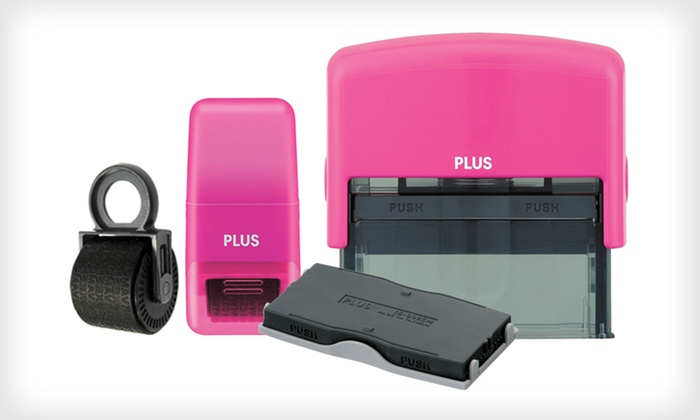 Plus Guard Your ID Stamp Bundle: $20 for a Plus Guard Your ID Stamp Bundle ($39.96 List Price). Four Colors Available. Free Shipping and Returns.