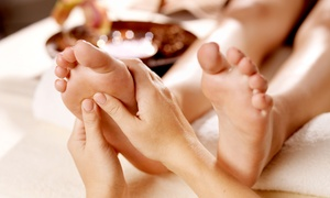 Doors To Heaven Spa: One or Three 60-Minute Foot Massages with Foot Scrubs at Doors To Heaven Spa (Up to 50% Off)