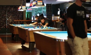 Malarkey's Pool & Brew: Two Hours of Pool or Pool Package with Drinks and Apps for Two or Four at Malarkey's Pool & Brew (Up to 47% Off)