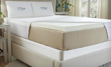 Nature's Sleep Memory Foam Mattress Topper from $89.99 Shipped