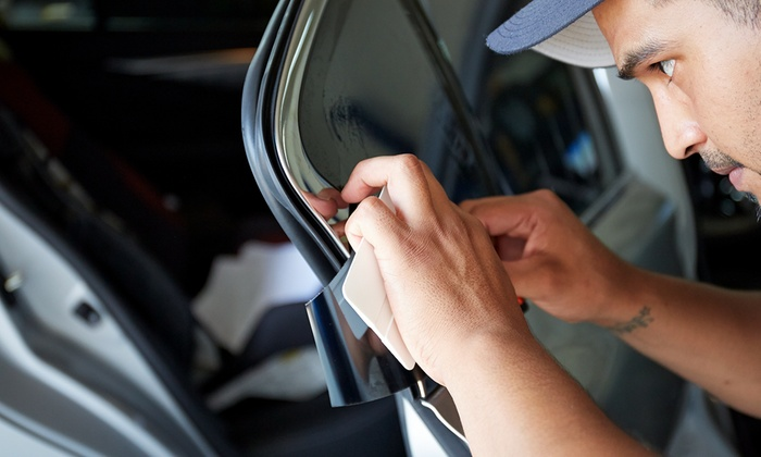 New York Signs and Window Film - New York Signs and Window Film: Tinting for Two Front Windows, a Full Car, or a Full SUV at New York Signs and Window Film (Up to 61% Off)