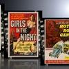 Vintage Movie Posters Printed on Metal