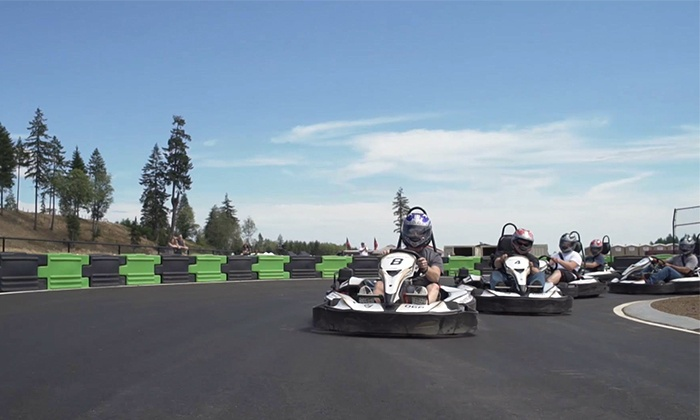 Olympic Grand Prix - Olympic Grand Prix @ The Ridge Motorsports Park: One Racing Session for Two, Four, or Six with Helmet Rental at Olympic Grand Prix (Up to 48% Off)