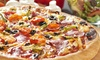 Aladino's Pizza - Discovery Bay: Pizza Meal for Two or Four, or $15 for $20 Worth of Takeout at Aladino's Pizza (Up to 49% Off)