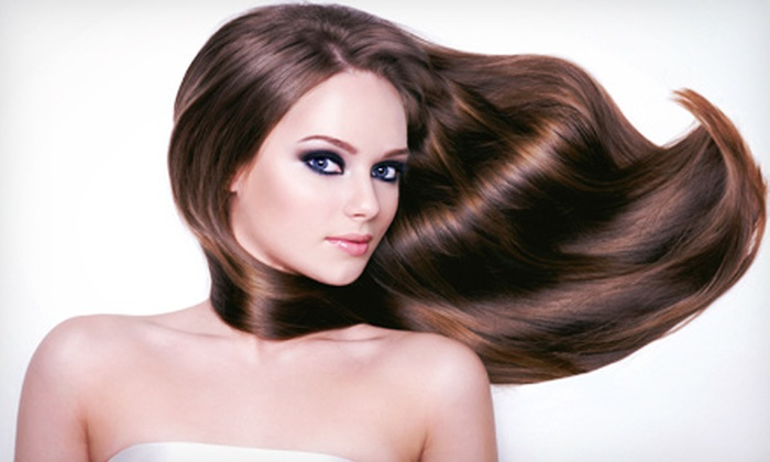 A'jewel4sure Hair & Makeup Studio - Perimeter Center: $99 for a Keratin Straightening Treatment at A'jewel4sure Hair & Makeup Studio ($350 Value)