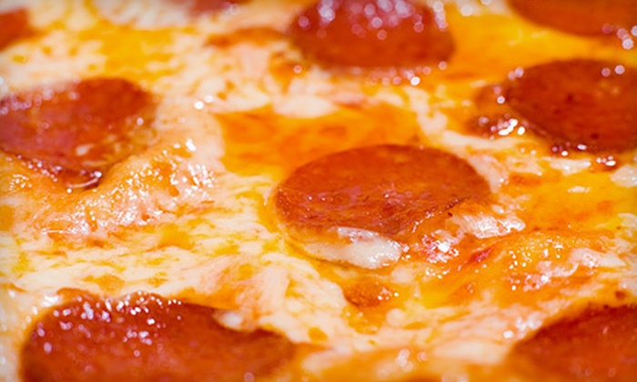 Linwood Pizza - Blaine: 1 or 10 Large Pizzas with Toppings at Linwood Pizza (Up to 59% Off)