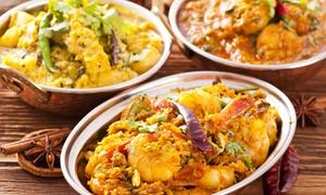 BHARAT: Menu indiano all you can eat con birra o vino (sconto fino a 75%)