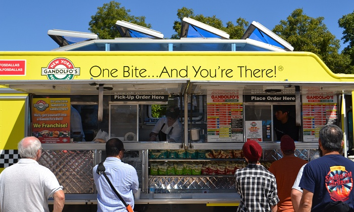 Food Truck Palooza - Temple Shalom Dallas: Festival Package for Two or Four with Drinks at Food Truck Palooza on September 14 at 11 a.m. (42% Off)