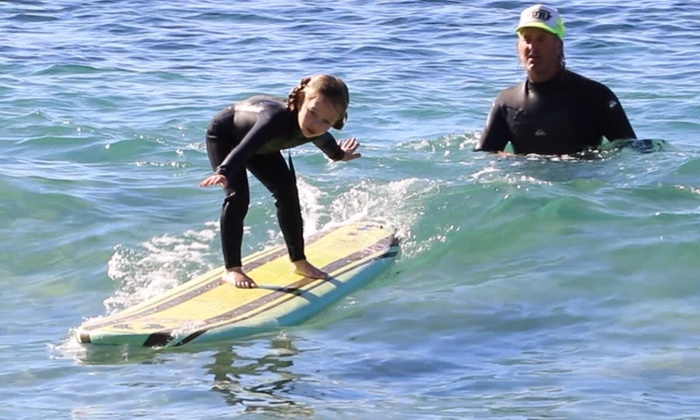 Goff Tours - Orange County: 90-Minute Private Surf or Standup-Paddleboard Lesson for One or Two from Goff Tours (Up to 60% Off)