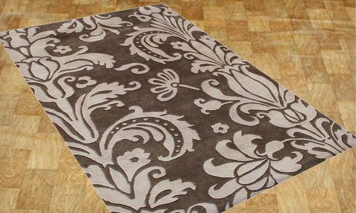 Alliyah Modern 5'x8' and 8'x10' Handmade Wool Rugs: Alliyah Handmade Wool Rugs (Up to 55% Off). 26 Options Available. Free Shipping and Free Returns.